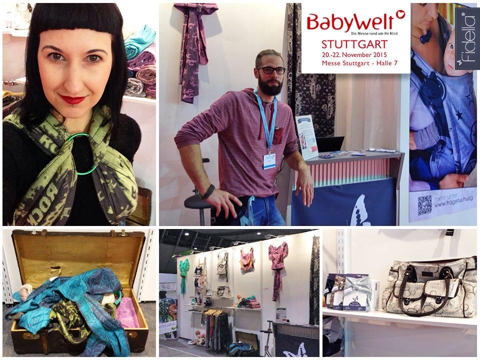 Babywelt Stuttgart Fidella Babytragetücher Flytai